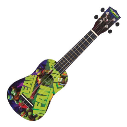 Teenage Mutant Ninja Turtles TMUK2 Soprano Ukulele